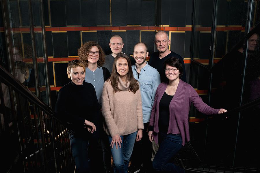 Therapeuten-Team am BIF